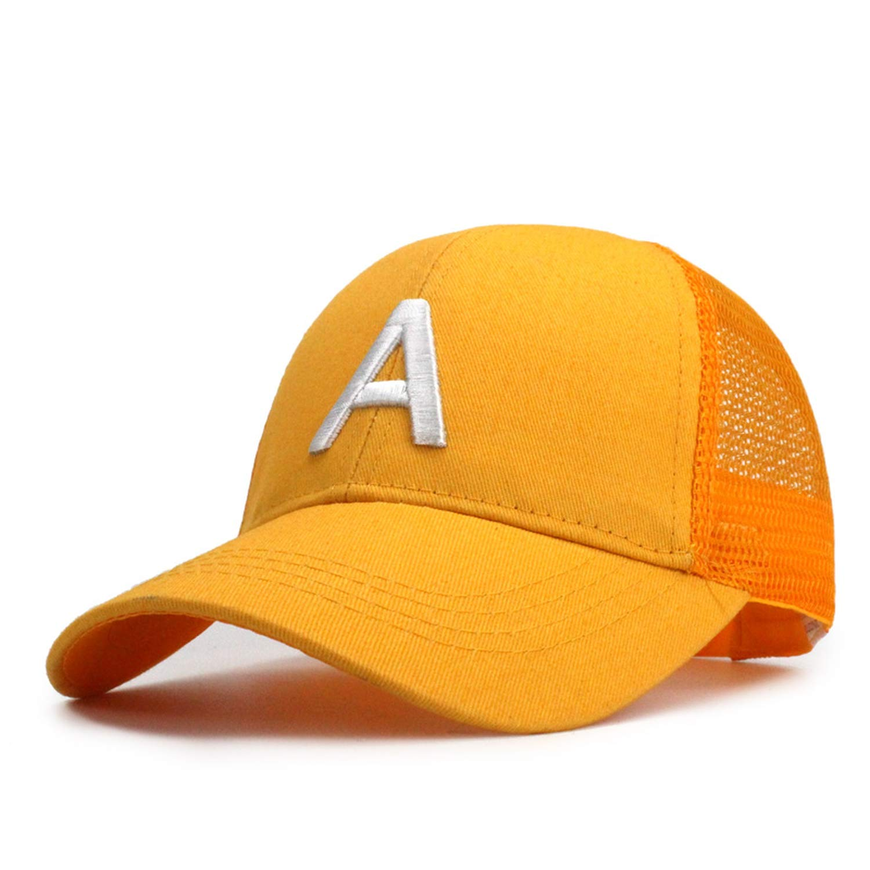 Wension Letter Embroidery Children Baseball Cap Cartoon Hip Hop Hat Snapback Girl Summer Cap Baseball Hat