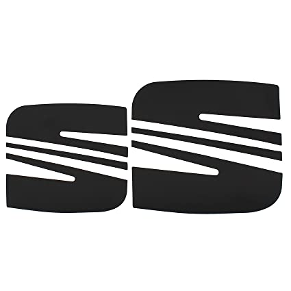 Folie Emblem Seat Logo Set vo+hi Karminrot Seat Leon 1P Altea XL Freetrack