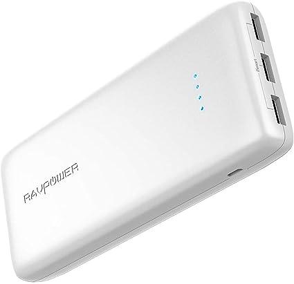 Amazon.com: RAVPower Cargador portátil Batería externa Power ...