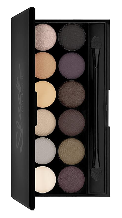 Sleek Makeup I de Divine Sombras palé AU Naturel con espejo, ...