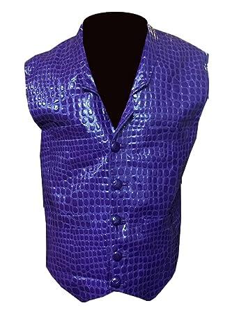 <b>Amazon</b>.com: ABz Leathers Halloween Dark Knight <b>Joker</b> Purple Vest ...