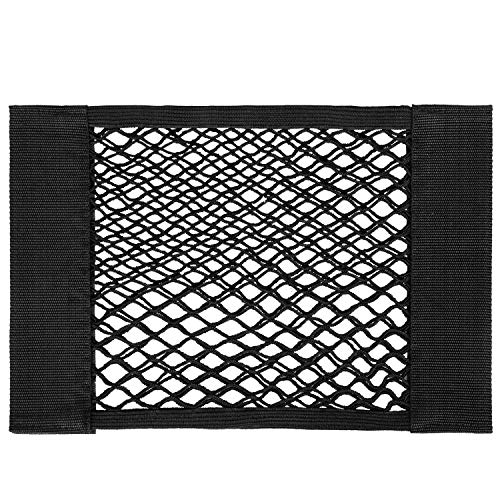 VIVOSUN Elastic Storage Mesh Net, Tool Bag with Adhesive Backing for Tent, Wall and Car