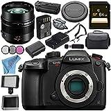 Panasonic Lumix DC-GH5S Mirrorless Micro Four Thirds Digital Camera Leica DG Nocticron 42.5mm f/1.2 ASPH. POWER O.I.S. Lens Bundle