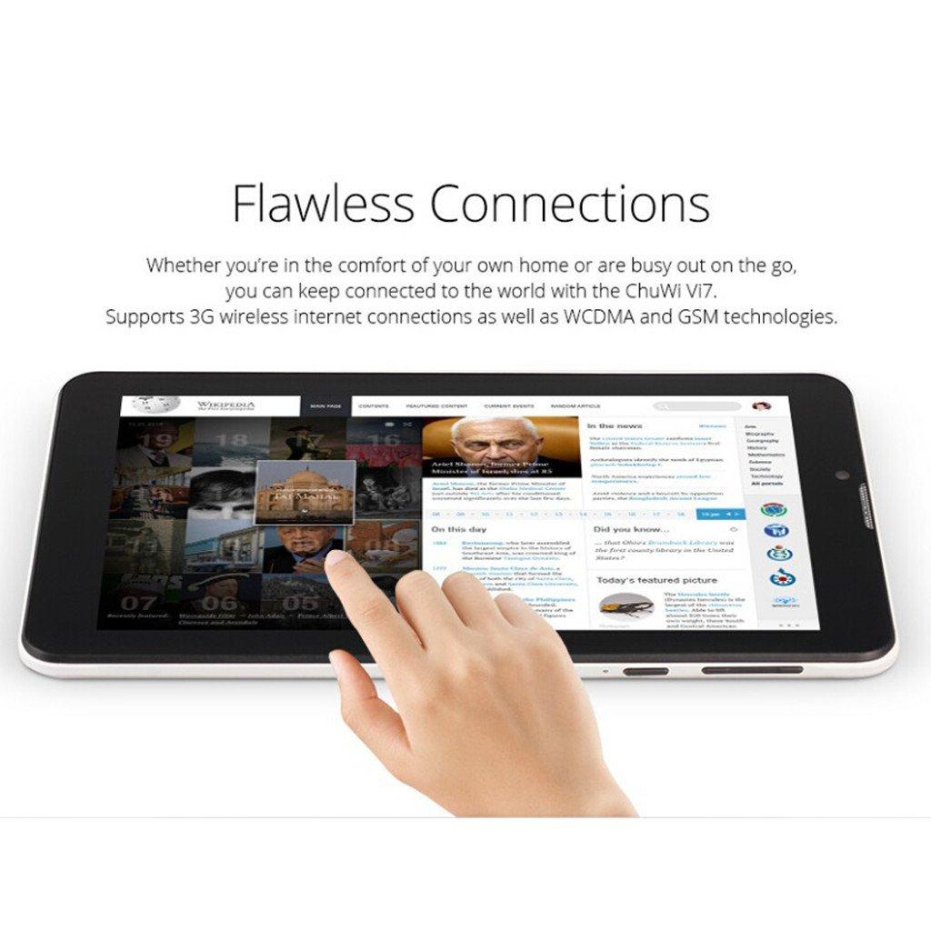Chuwi VI7 WCDMA, GSM, 3 g, procesador Intel SoFIA Quad-core, Android Tablet PC 5,1 FM, usb, wi-Fi, Bluetooth, GPS: Amazon.es: Electrónica