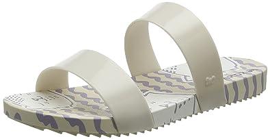 Womens Zaxy Sandals Share Cat Beach Sandals Slides Ivory