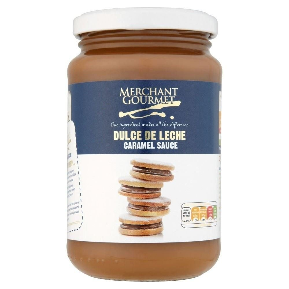 Amazon.com : Merchant Gourmet Dulce De Leche - Caramel Sauce 450g (Pack of 3) : Grocery & Gourmet Food