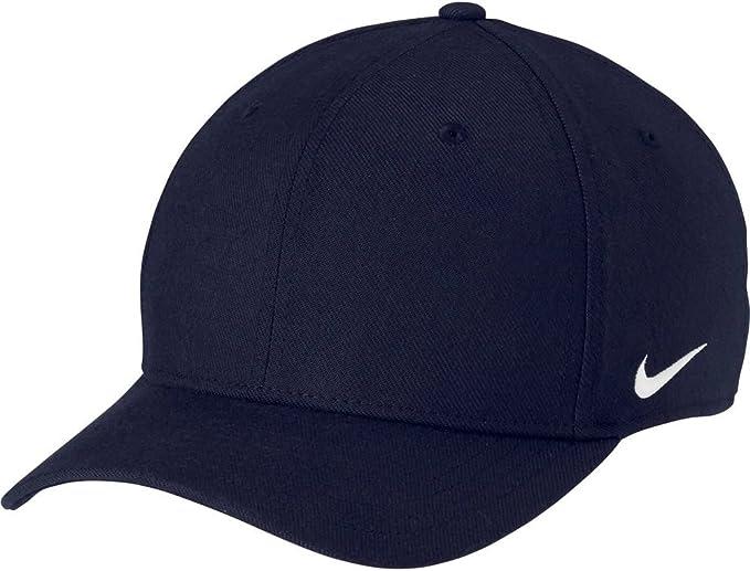 Gorra Nike – Team Df Swoosh Flex azul/blanco talla: L/XL: Amazon ...