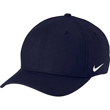 Gorra Nike - Team Df Swoosh Flex azul/blanco talla: S/M: Amazon.es ...