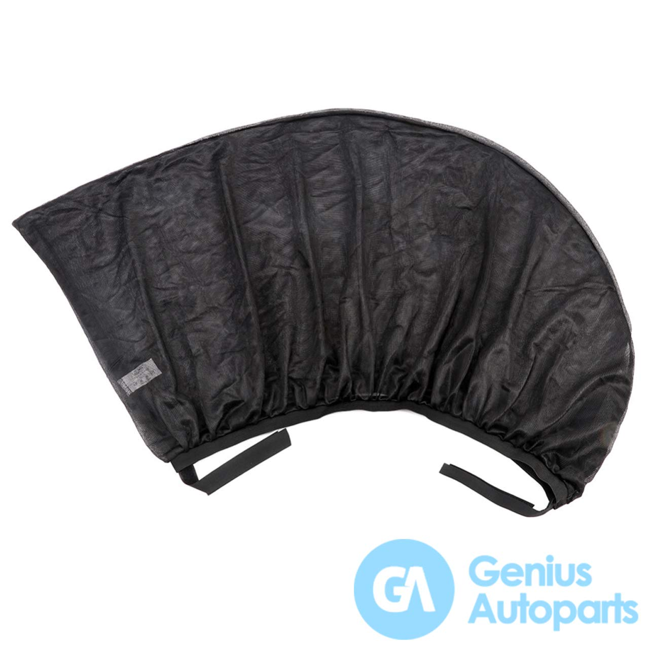 Genius Autoparts Car Sun Shades Breathable Mesh UV Protection Window Cover for Kids