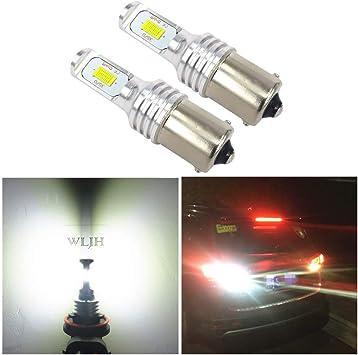 12V White LED 1156 BA15S P21W Car Backup Reverse Signal Light Bulb Canbus Lamp