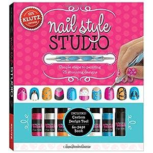 Klutz Nail Style Studio Book Kit
