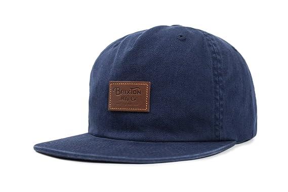 Brixton Men s Grade Ii Medium Profile Adjustable Unstructured Snapback Hat ac6c8897d1a
