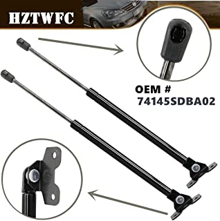 4 PIECES 2 WINDOW GLASS /& 2 HOOD LID LIFT SUPPORTS SHOCKS STRUTS ARMS PROPS RODS