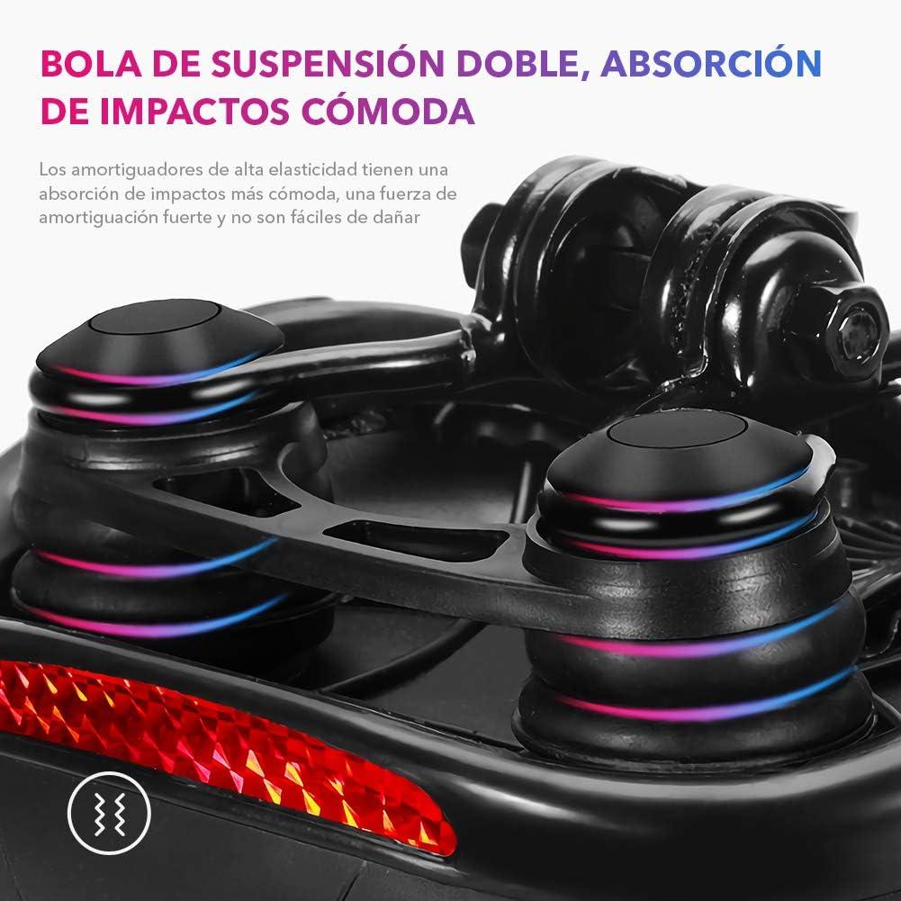 Monta/ña con Espuma Memoria de Alta Densidad para Bicicleta de Carretera Urbana ARZOPA Sill/ín de Bicicleta Senderismo Asiento de Bicicleta Antideslizante y Respirable con Coj/ín Amortiguador MTB
