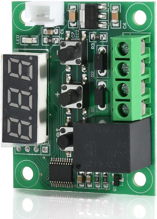 DollaTek DC 12V Regulador de Temperatura Digital termostato Inteligente Regulador Interruptor