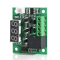 KKmoon W1209 Scheda LED blu Digitale per Termoregolazione Micro Termostato Controllo Elettronico della Temperatura 12 V Interruttore Modulo Sensore CC con Relè Monocanale e Impermeabile