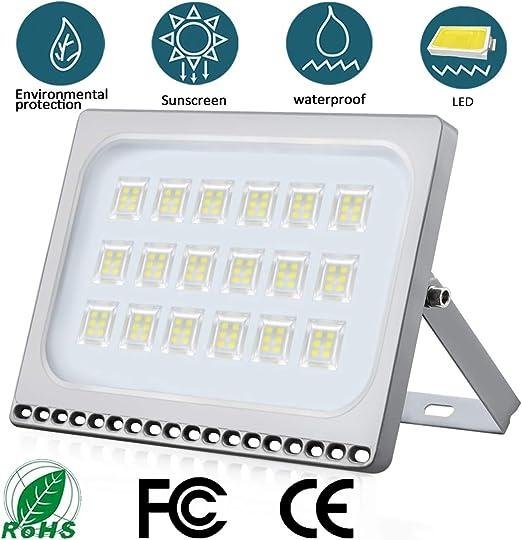 Foco LED 100W IP65 Impermeable Floodlight LED Exterior 10000 lumen ...