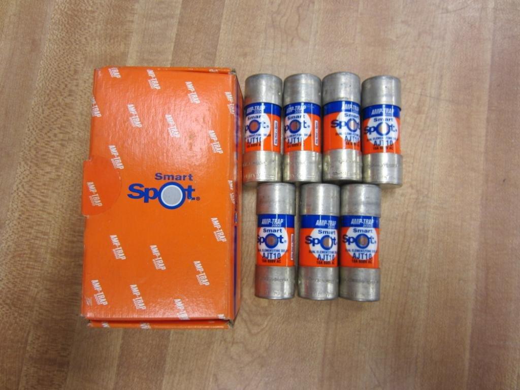 Shawmut AJT10 Amp-Trap 2000 Fuse (Pack of 7)