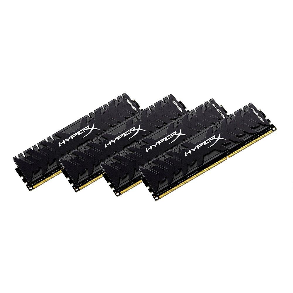 HyperX Predator HX436C17PB3K2//32 Memoria DDR4 32 GB Kit 3600 MHz CL17 DIMM XMP 2 x 16 GB