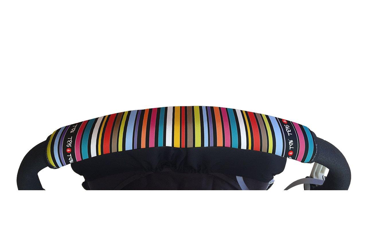 Tris&Ton Fundas empuñaduras horizontales, empuñadura funda para silla de paseo cochecito carrito carro. Variación de modelos (Tris y Ton) Tris & Ton