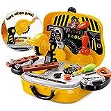 FunBlast® Tool Set Toys for Kids, (Set of 31 Pcs) Pretend PlaySet, Little Engineer Pretend Toolbox Construction Tools, Role Play Engineer Workshop Tool Kit