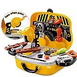 FunBlast Tool Set Toys for Kids, (Set of 31 Pcs) Pretend PlaySet, Little Engineer Pretend Toolbox Construction Tools, Role Play Engineer Workshop Tool Kit