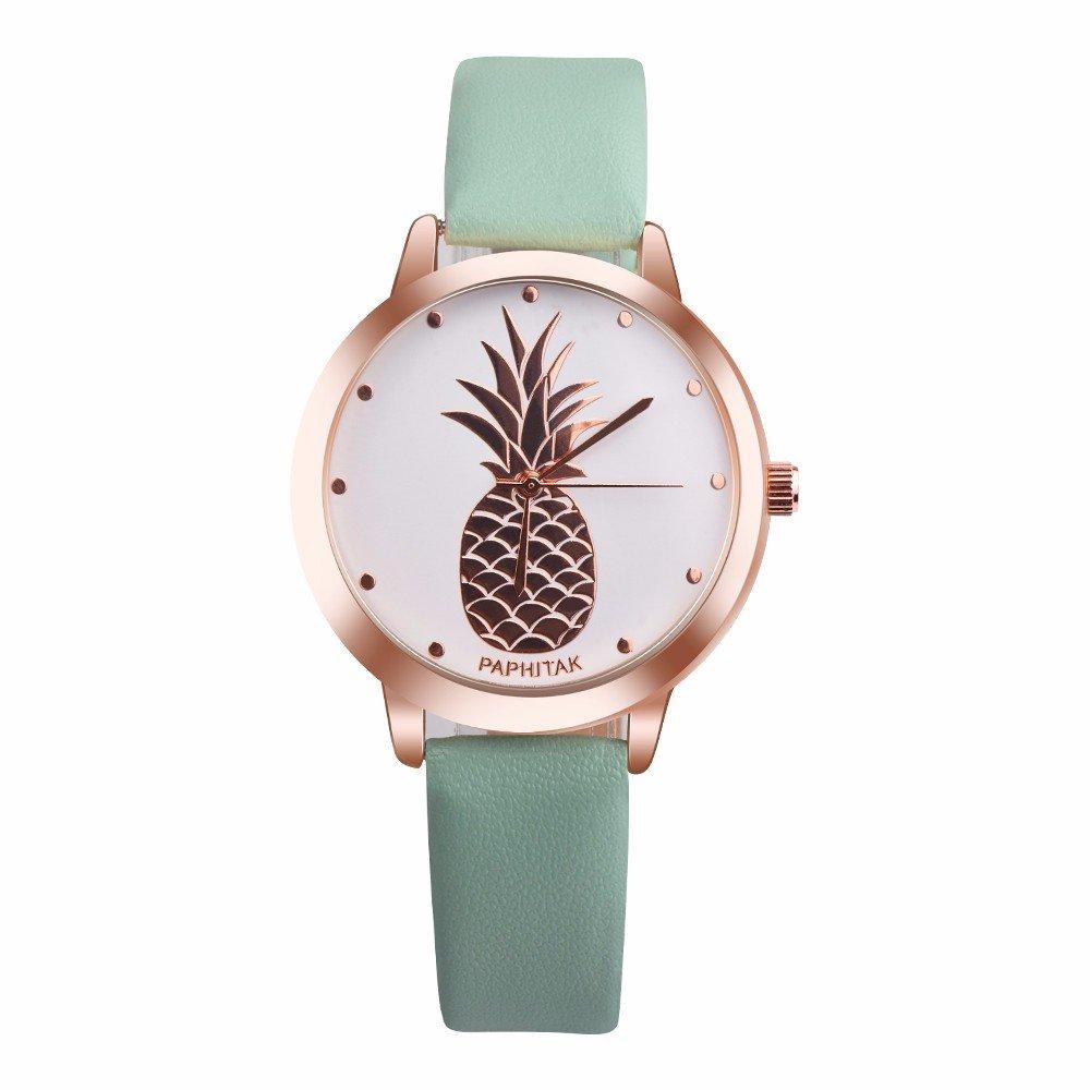 Women's Quartz Watch,ODGear Ladies Cheap On Clearance Wrist Watch Pineapple NW20