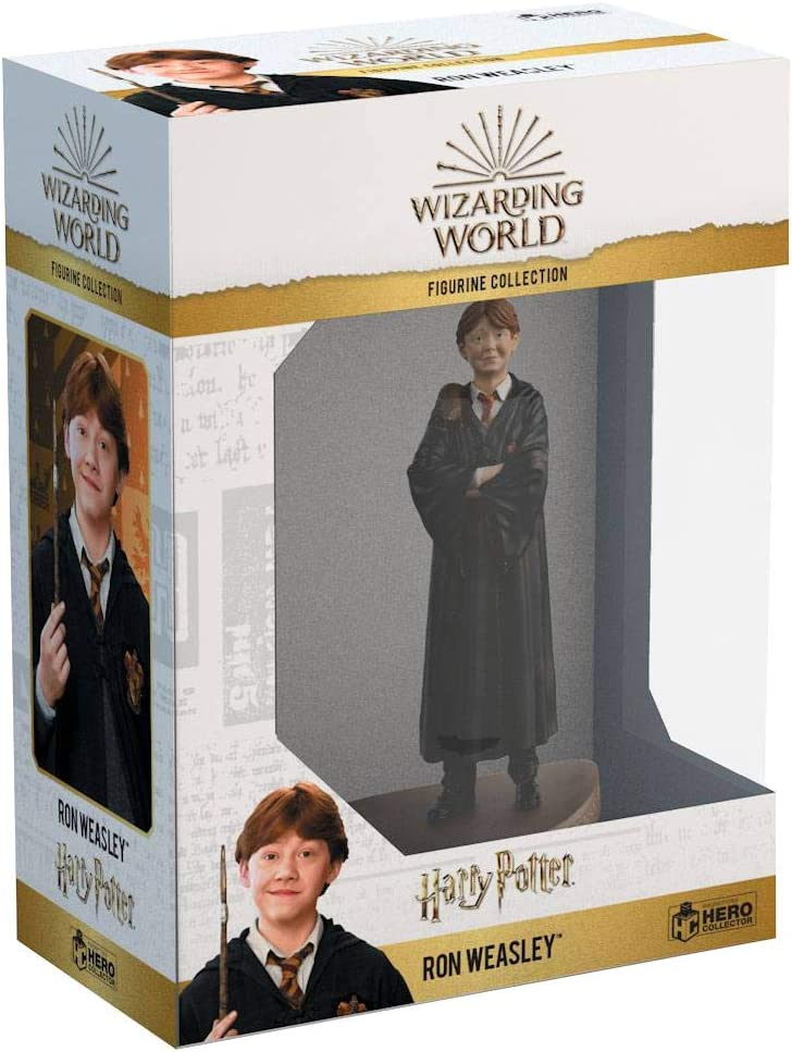 Eaglemoss- Wizarding World Collection Harry Potter Waesley Estatua Ron Weasley, Multicolor (EAMOWHPUK010)