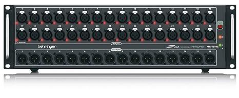 Amazon.com: Behringer S32 I/O Caja con 32 x remote ...