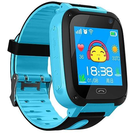 Amazon.com: 106sasuppg S4 - Reloj inteligente para niños ...