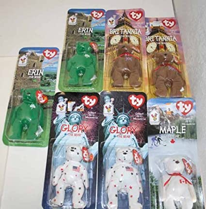 Image Unavailable. Image not available for. Color  Ty Mcdonalds Beanie  Babies - Erin ... a932b15a32b1