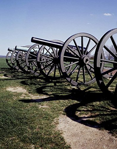 (Photograph | Civil War cannons| Fine Art Photo Reporduction 32in x 44in)