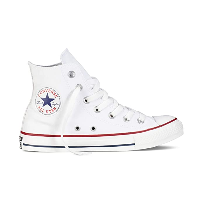 Converse Chuck Taylor All Star High Top Sneakers Damen Herren Unisex Weiß