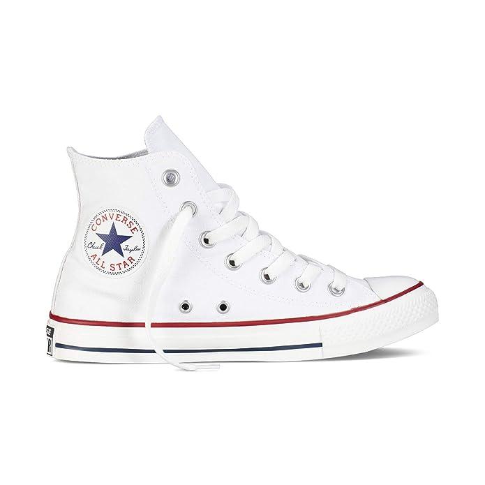 Converse Chuck Taylor All Star High Top Sneakers Damen Herren Unisex Weiß