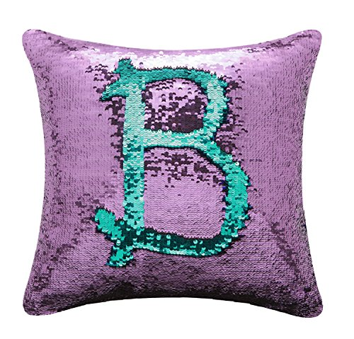 BOOBEI Two Colors Reversible Sequins Mermaid Pillow Cases