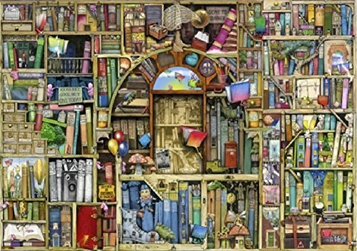 Wentworth Neverending Stories 500 Piece Wooden Colin Thompson Jigsaw Puzzle