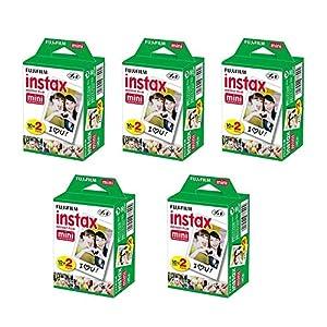 Fujifilm INSTAX Mini Instant Film Pack (White)