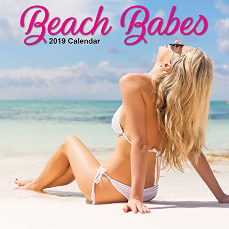 Image Unavailable. Image not available for. Color  2019 Wall Calendar -  Beach Babes Calendar ba81ccf8a