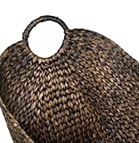BirdRock Home Water Hyacinth Laundry Baskets