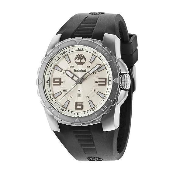 Timberland Reloj Analógico para Hombre de Cuarzo con Correa en Caucho TBL.14478JSU-07P: Amazon.es: Relojes