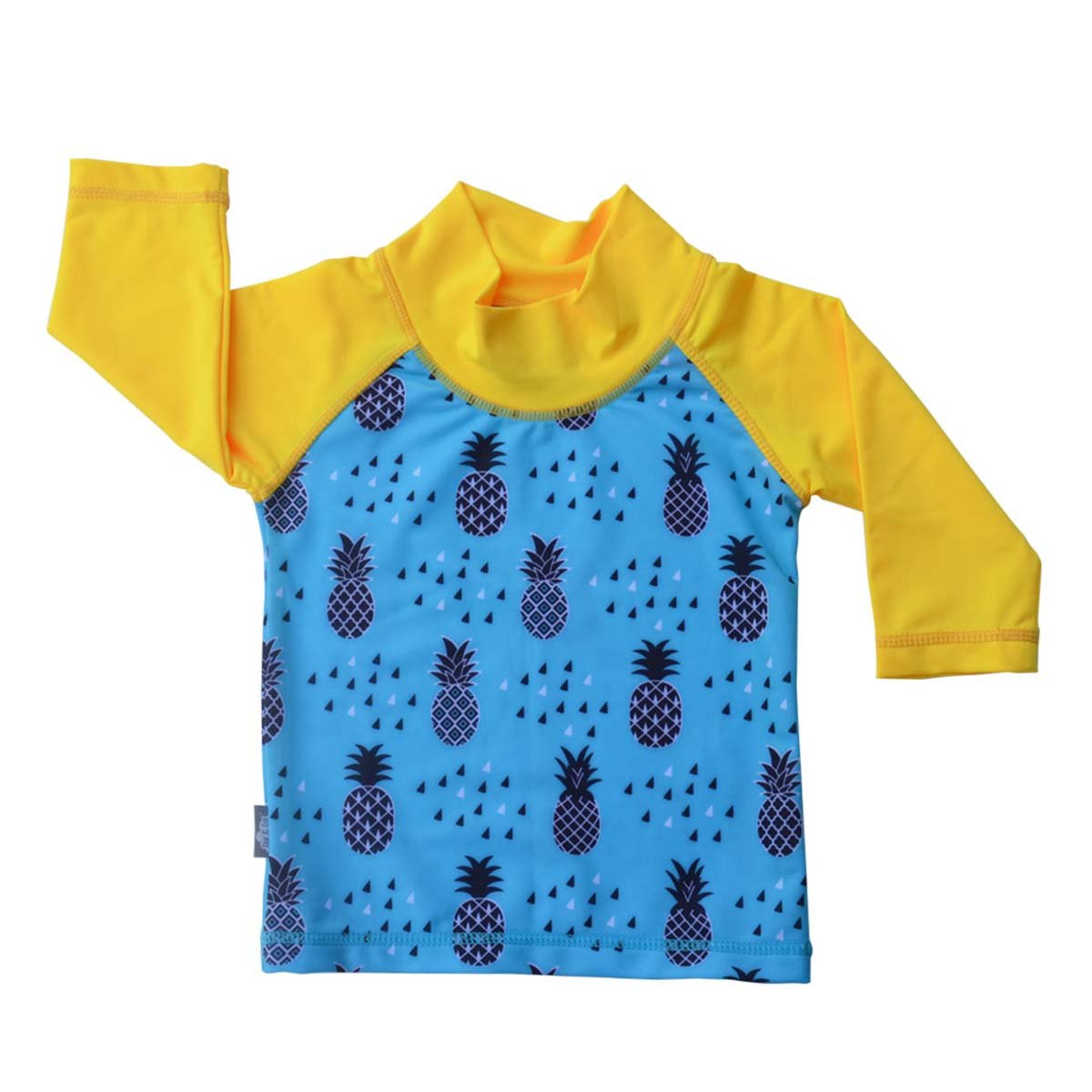 JAN & JUL UV Protective Swim Shirt Rash Guard 50+ UPF Baby Boy (UV Shirt S: 0-6m, Pineapple) Twinklebelle Design Inc 21-06S