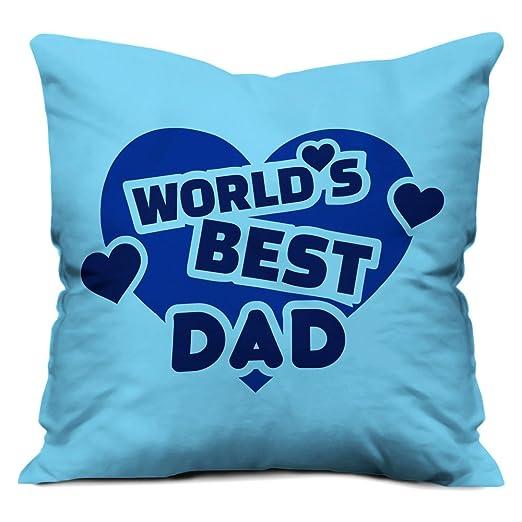 indibni Funda de cojín Día del Padre, con la frase en inglés ...