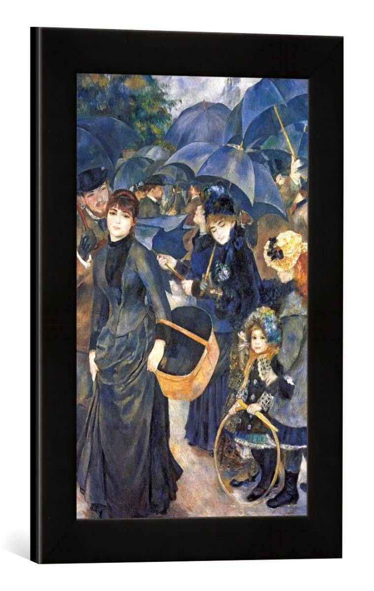 Gerahmtes Bild von Pierre Auguste Renoir The Umbrellas, c.1881-6