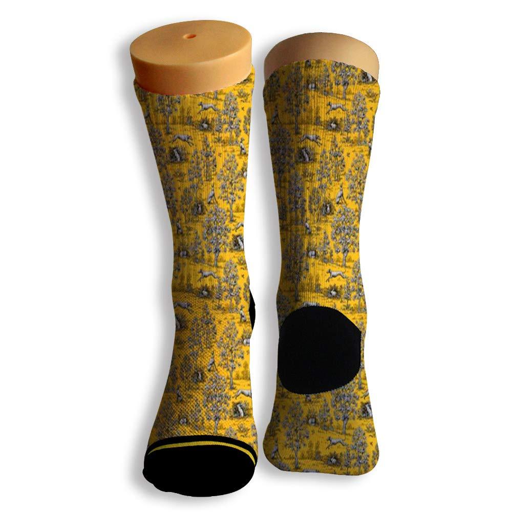 Basketball Soccer Baseball Socks by Potooy Jump Rabbit 3D Print Cushion Athletic Crew Socks for Men Women