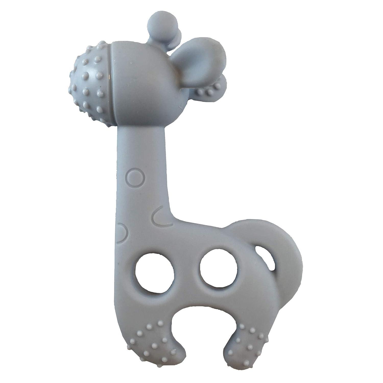 Vital Innovations 046107-01 Bei/ßring Giraffe Bite me Raff grau