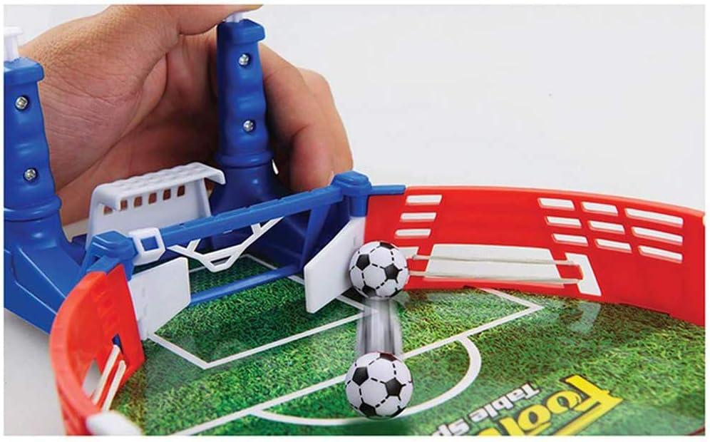 Liu Yu·casa creativa Pelotas de fútbol Sala,Mini Tabletop Soccer Game Desktop Mini Football Tabletop Arcade Juego Diversión Niños Adultos Table Soccer: Amazon.es: Hogar