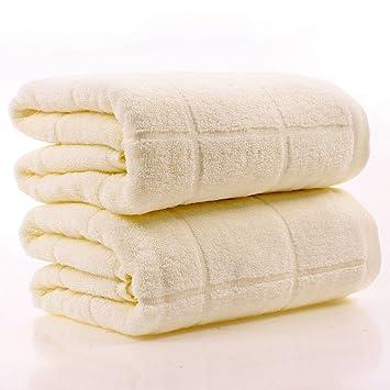 Toalla de baño de algodón espesamiento Adulto Hombres y mujeres toallas de pareja Toalla de tubo suave absorbente (Color : #2) : Amazon.es: Hogar