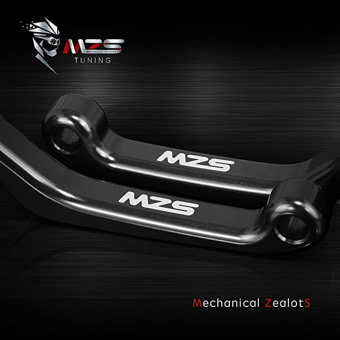 Gold MZS Pivot Levers Brake Clutch CNC for Yamaha YZ125 YZ250 YZ426F YZ450F 2001-2007// YZ250F 2001-2006