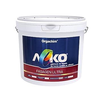 Peinture De Façade Haute Qualité Au Silicone Leko Fasagen Ultra