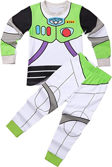 MSemis Unisex Pijamas Disfraz de Cowboy Astronauta para Niños ...